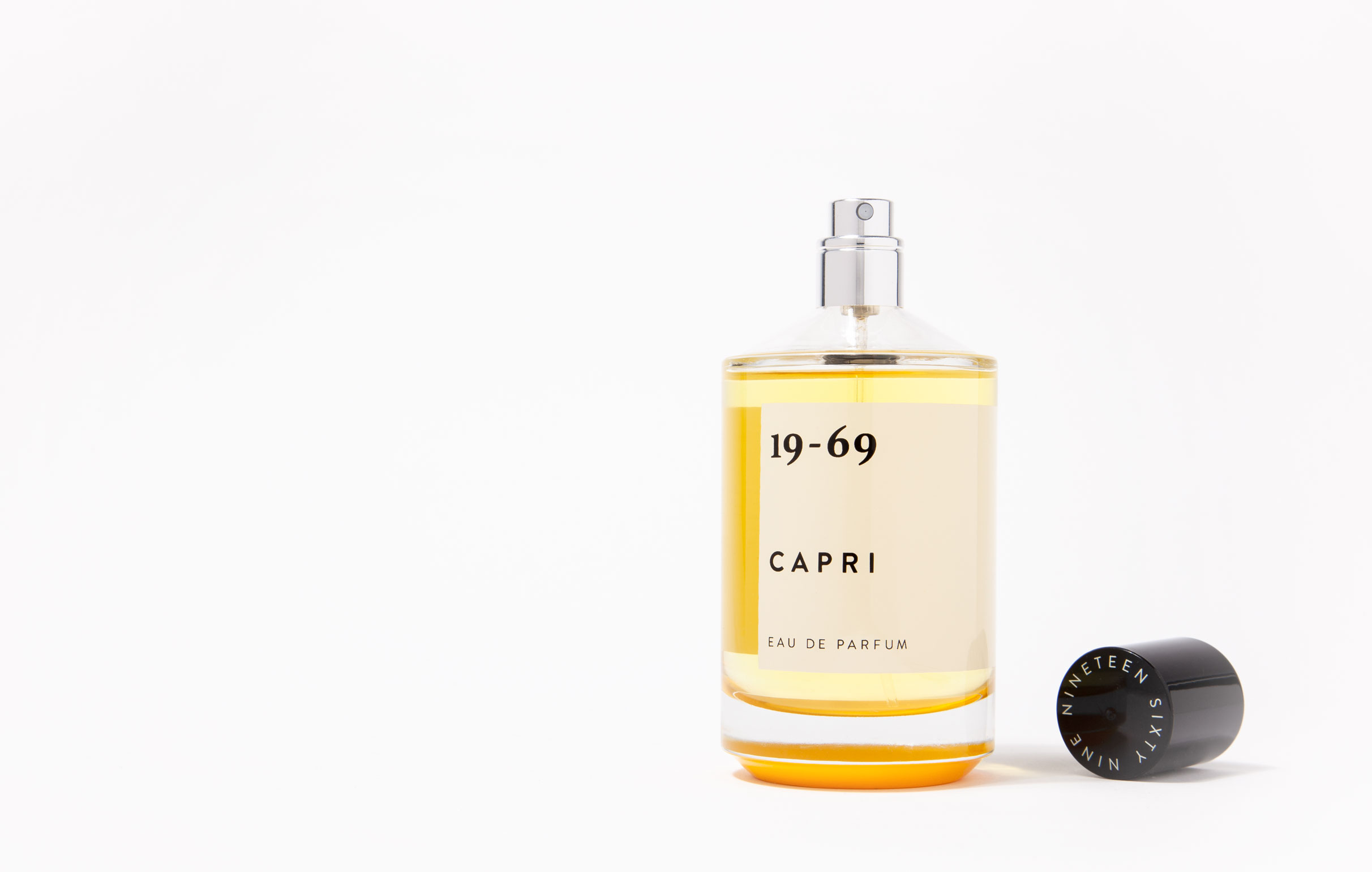 CAPRI is Inspired by the settings of Villa Malaparte and the iconic film Le Mépris (1963) that was filmed on the Isle of Capri. Capri Eau de Parfum 100 ml by 19-69.