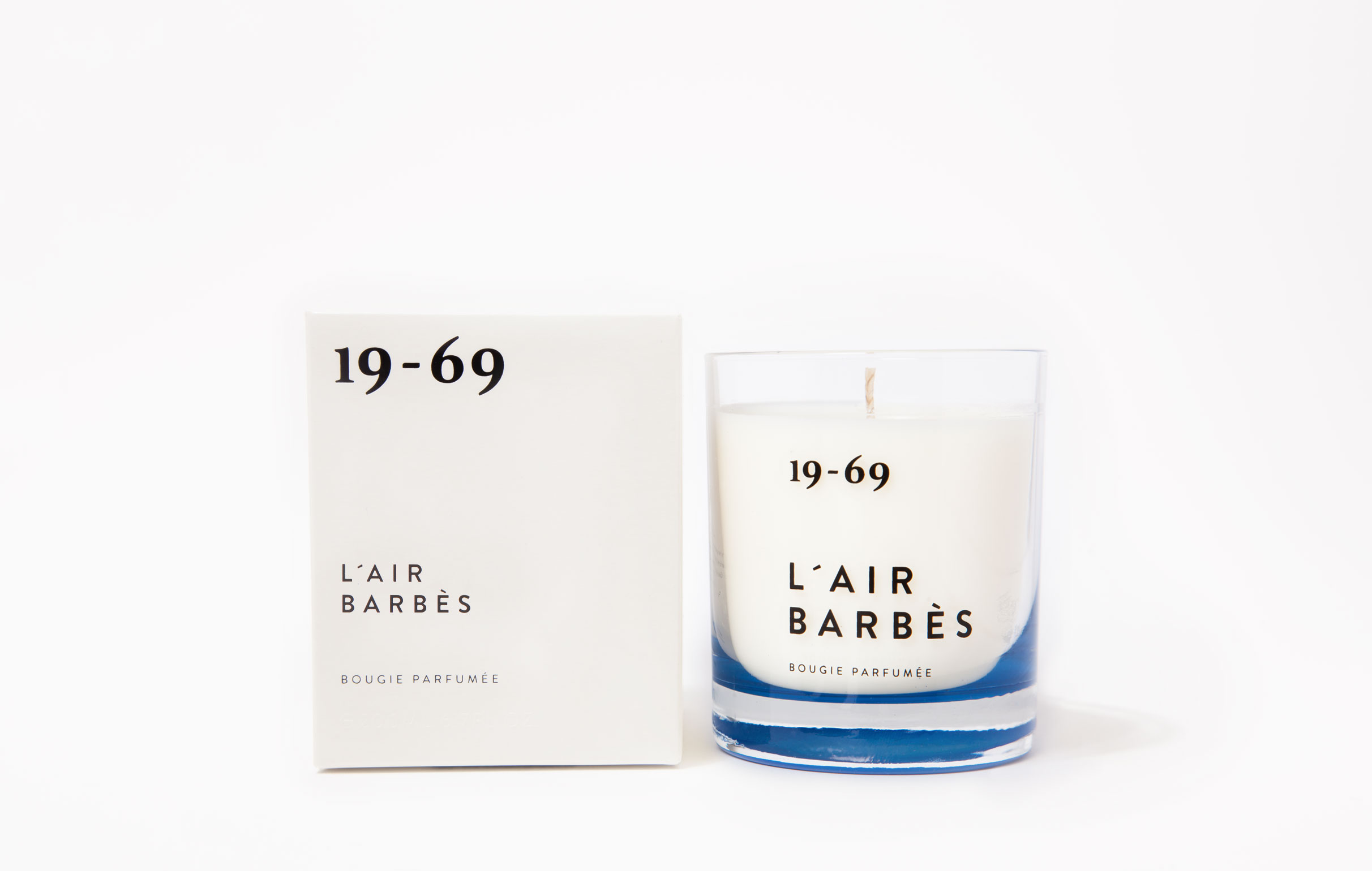 19-69 L´air Barbès Bougie Parfumée 200ml