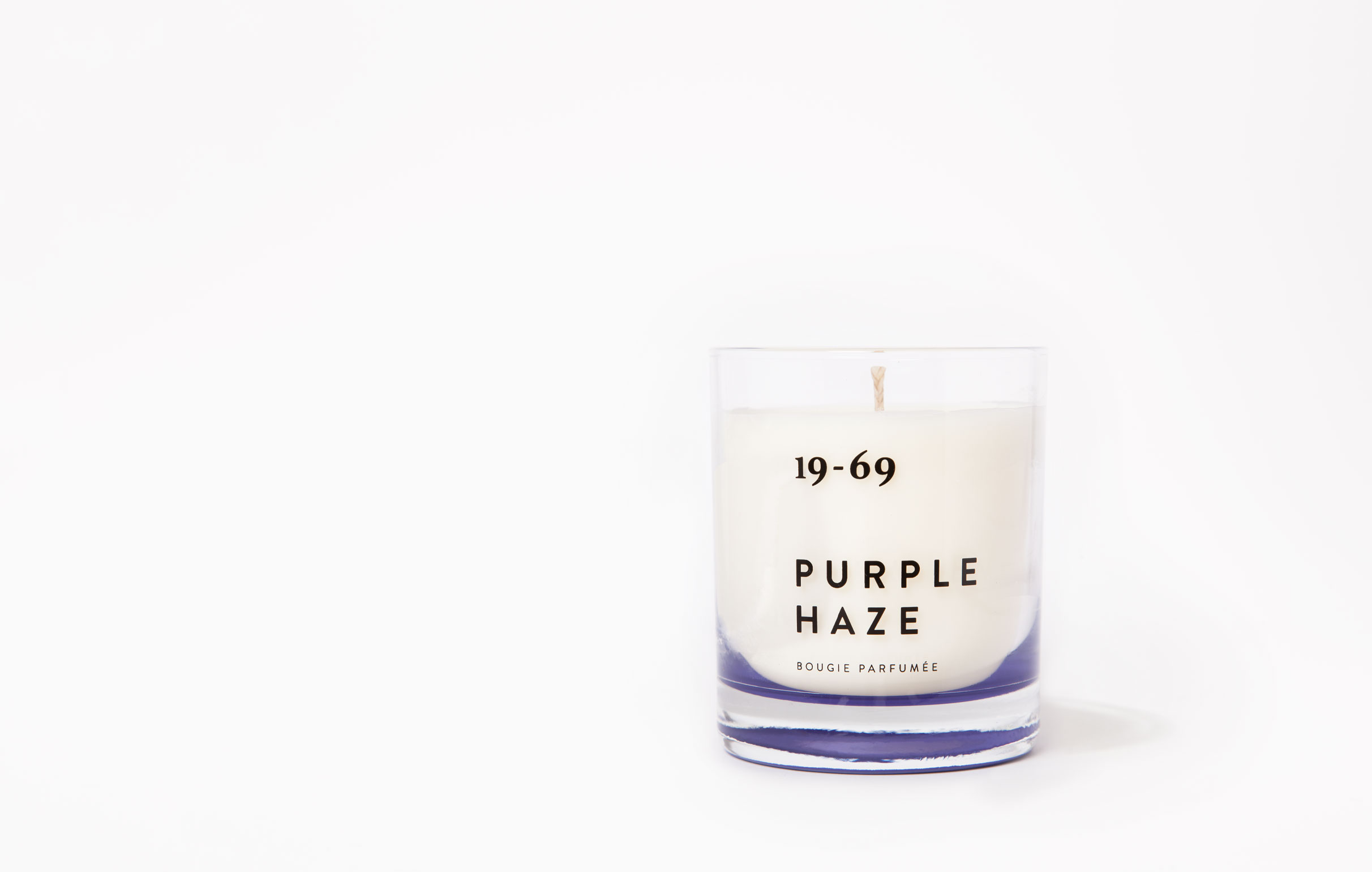 19-69 Purple Haze Bougie Parfumée 200ml
