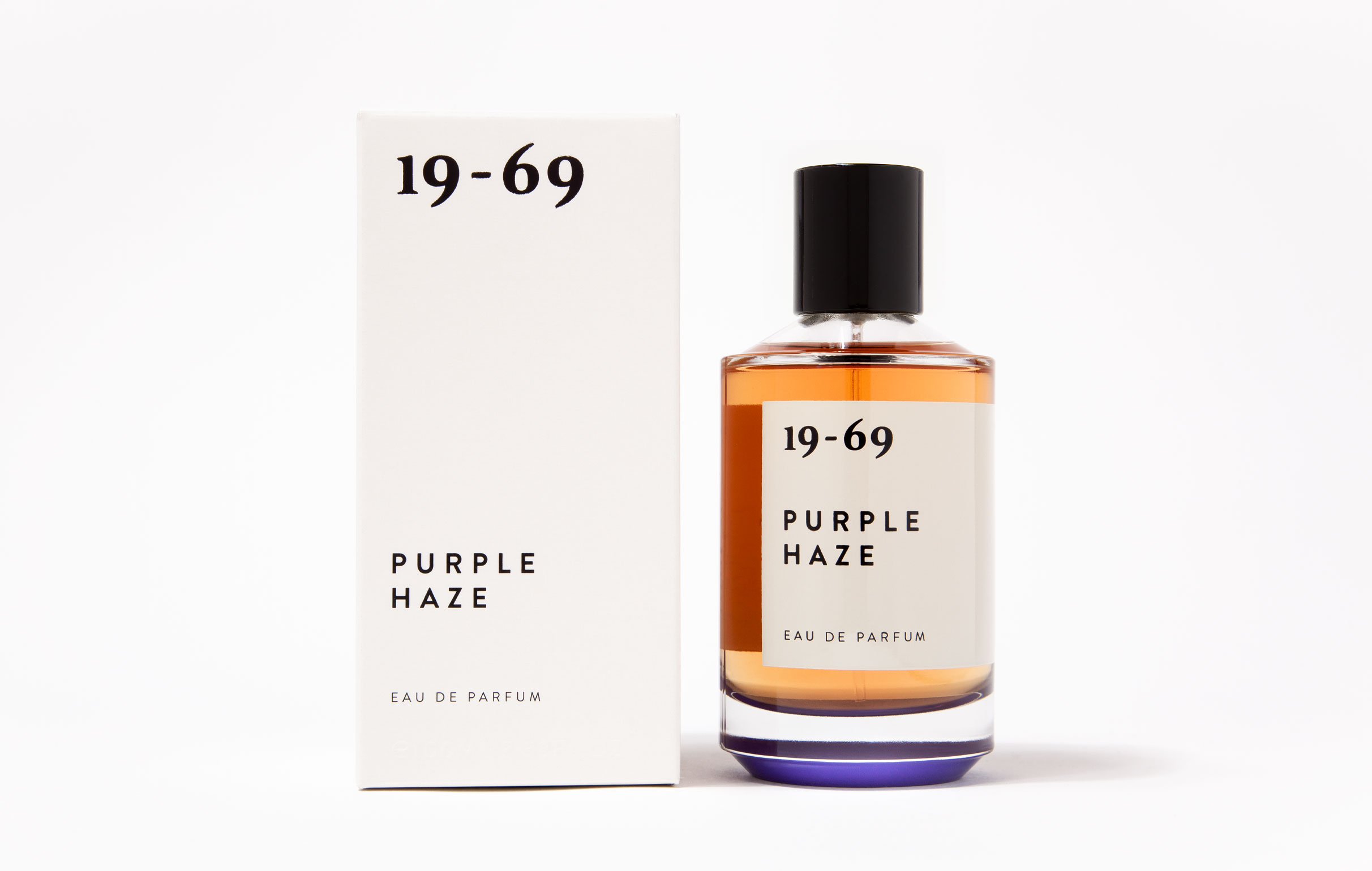 Purple Haze embraces the hippie movement and counterculture just like John and Yoko's bed-ins in Amsterdam and Montreal (1969). Eau de Perfume 100ml by 19-69.