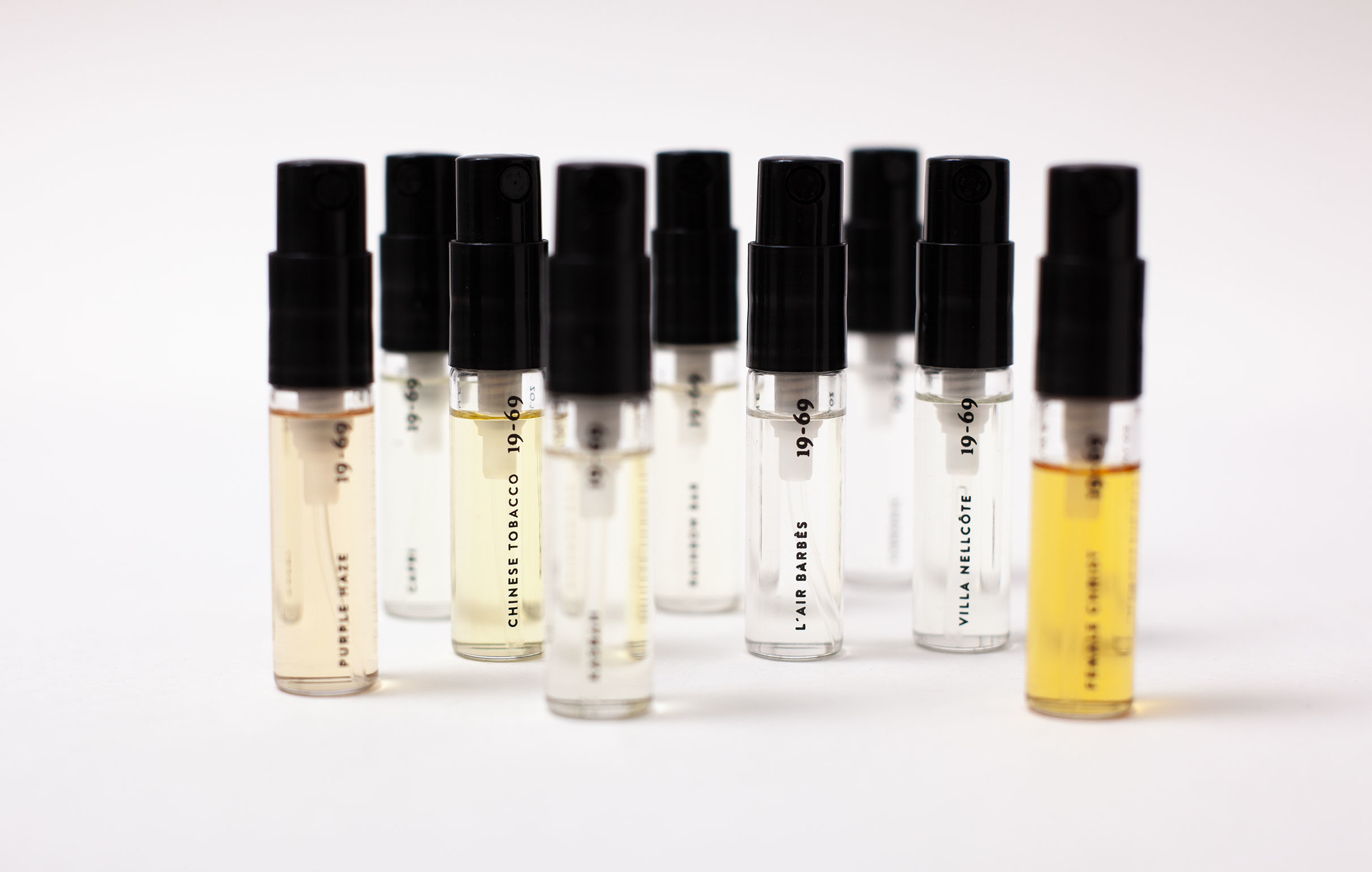 THE COLLECTION pocket size 2,5ml sprays